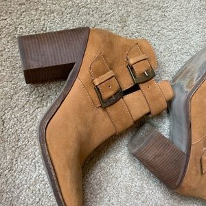 Steve Madden Shoes - Tan Cognac Genuine Leather Trevor Booties